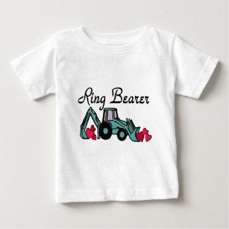 Ring Bearer Backhoe Baby T-Shirt