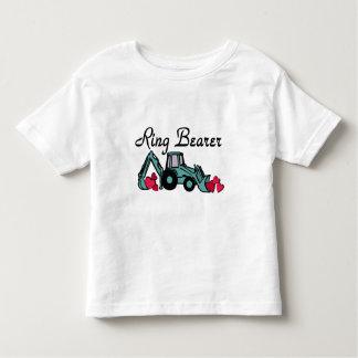 Ring Bearer Backhoe Tshirts