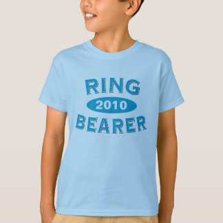 Ring Bearer Blue Arc 2010 T-Shirt