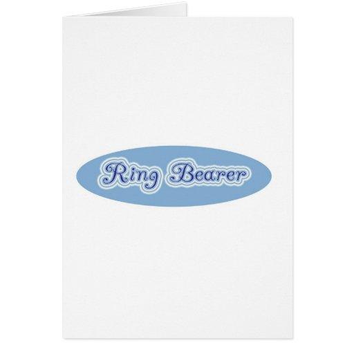 Ring Bearer Greeting Cards