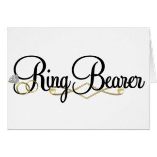 Ring Bearer Card