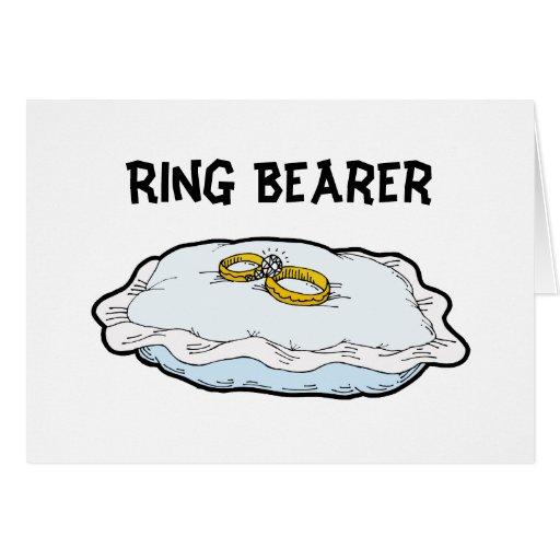 Ring Bearer Cards