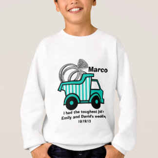 Ring Bearer Dump Truck Sweatshirt