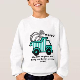Ring Bearer Dump Truck Sweatshirt
