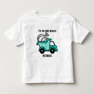 Ring Bearer Dump Truck Tshirts