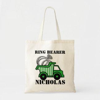 Ring Bearer Green Dump Truck