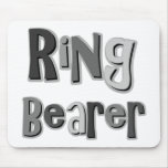 Ring Bearer Grey Mouse Pad