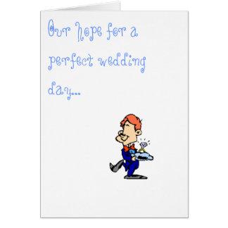Ring Bearer Invitation Cards