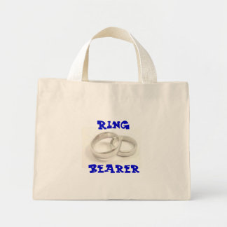 Ring Bearer Mini Tote Bag