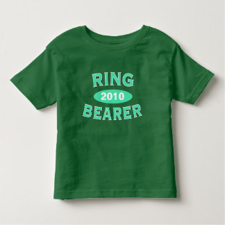 Ring Bearer Mint Green Arc 2010 Toddler T-shirt