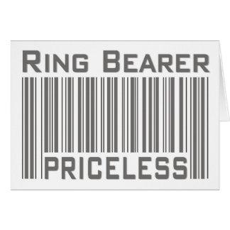 Ring Bearer Priceless Card