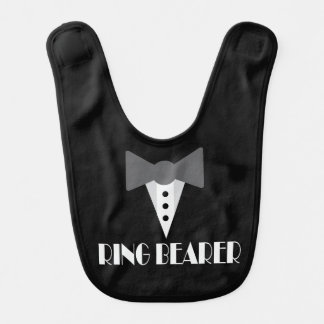 Ring Bearer Ringbearer Wedding Party Baby Bib
