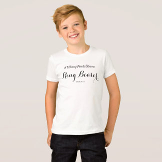"""Ring Bearer"" T-Shirt from Complete Bridal Set"
