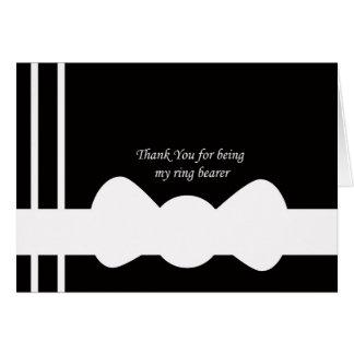 Ring Bearer Thank You Card