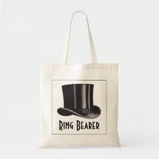 Ring Bearer Top Hat Tote Bag