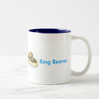 Ring Bearer Two-Tone Coffee Mug