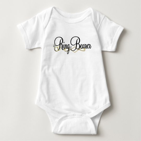 Ring Bearer - Wedding Baby Bodysuit
