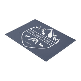 Ring Finger Ranch doormat