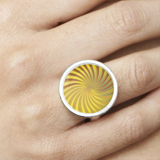 Ring Gold Spiral Vortex