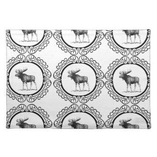 ring herd of moose placemat