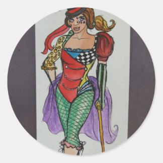 Ring Master Round Sticker