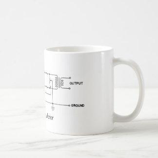 Ring Modulator Schematic Mug