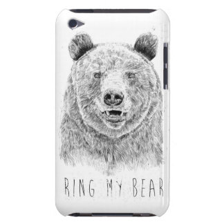 Ring my bear (bw) Case-Mate iPod touch case