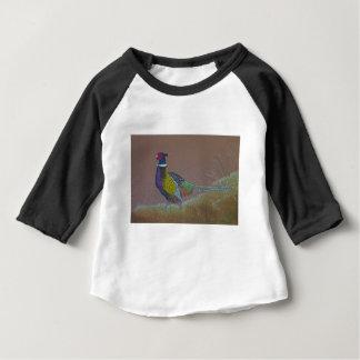 Ring Neck Pheasant Wild Bird Baby T-Shirt
