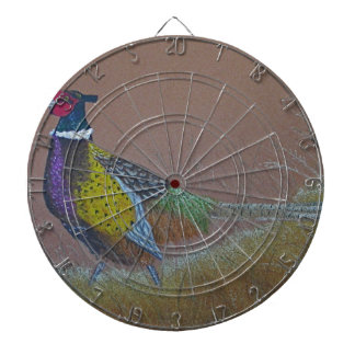 Ring Neck Pheasant Wild Bird Dartboard