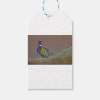 Ring Neck Pheasant Wild Bird Gift Tags