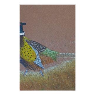 Ring Neck Pheasant Wild Bird Stationery
