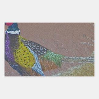Ring Neck Pheasant Wild Bird Sticker