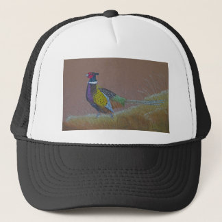 Ring Neck Pheasant Wild Bird Trucker Hat