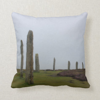 Ring of Brodgar (Orkney Island) Throw Pillow