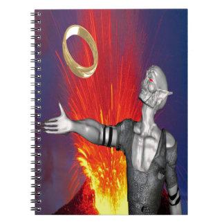 Ring of Destruction Spiral Notebook