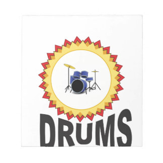 ring of drumset notepads