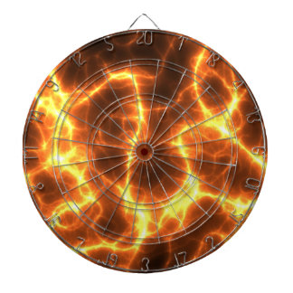 Ring Of Fire Flames Graphic Dartboards