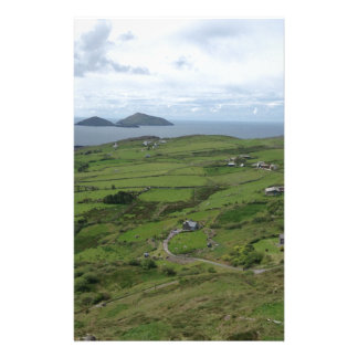 Ring Of Kerry Ireland Irish Ocean View Personalized Stationery