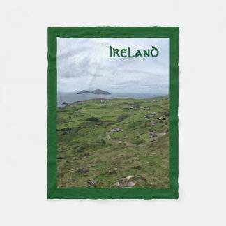 Ring of Kerry Irish Coast Ireland Blanket