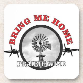 ring of prairie wind drink coasters