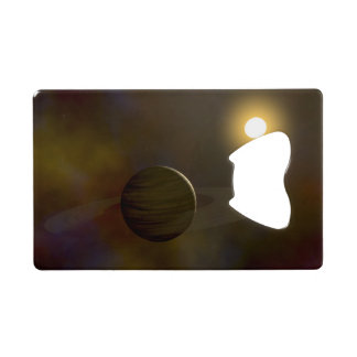 Ring Planet Wallet Bottle Opener