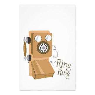 Ring Ring Stationery Design