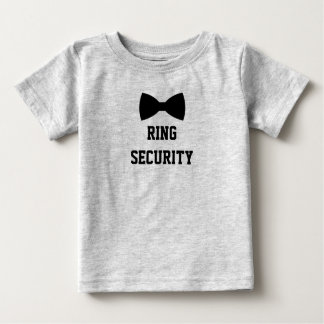 Ring Security Ring Bearer Tee. Cute T-shirt
