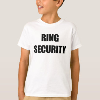 RING SECURITY | Ring Bearer Wedding Shirt