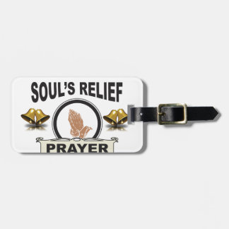 ring soul relief luggage tag