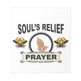ring soul relief notepad