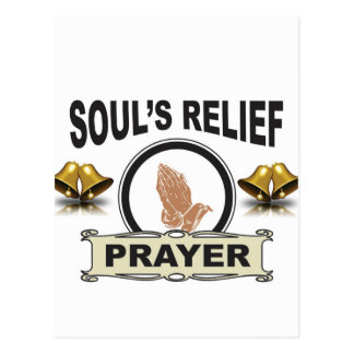 ring soul relief postcard