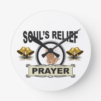 ring soul relief round clock