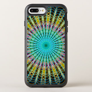 Ring Structures Mandala OtterBox Symmetry iPhone 7 Plus Case