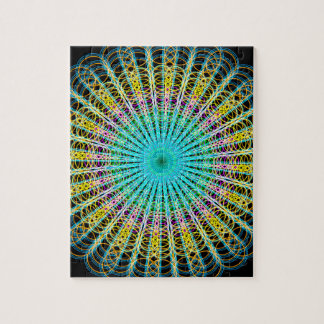 Ring Structures Mandala Puzzles